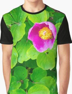 pink fucsia flower Graphic T-Shirt