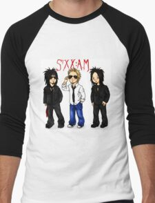 sixx am of cartoon Men's Baseball ¾ T-Shirt
