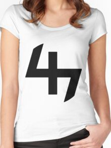 47 Women's Fitted Scoop T-Shirt