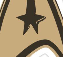 Star Trek Comm Badge Design Sticker