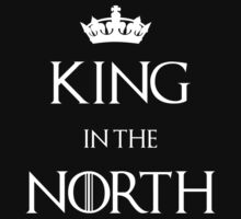 King in the North Crown T-Shirt