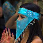 Dancer In The Pase Del Nino Parade III by Al Bourassa