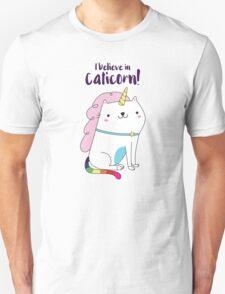 I believe in Caticorn Unisex T-Shirt