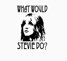WHAT WOULD STEVIE NICKS DO LOOKING UP Womens Fitted T-Shirt