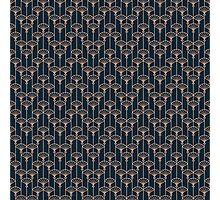 Art deco pattern Photographic Print
