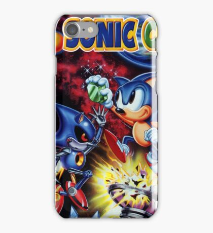 Sonic Cd iPhone Case/Skin