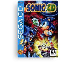 Sonic Cd Canvas Print