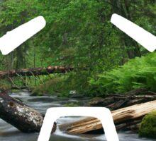 Zenyatta Nature Spray Sticker