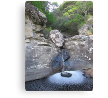 Jewell pool on Parker River Canvas Print