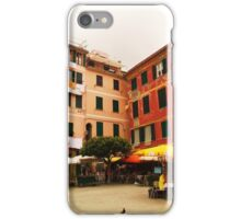 Buildings of Vernazza iPhone Case/Skin