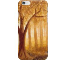 Autumn Forest I ~ Watercolor Painting iPhone Case/Skin
