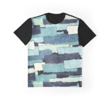 Layers of Colors Pattern Graphic T-Shirt