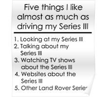 5 Things I Like - Series 3 Poster