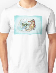 """Bam, A Sea Horse"" Unisex T-Shirt"