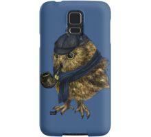 Sherlock // owl Samsung Galaxy Case/Skin