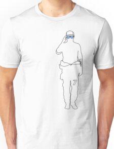 Kimi 7 - Sunglasses (Blue) Unisex T-Shirt