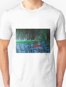 A Summer's Day at the River T-Shirt