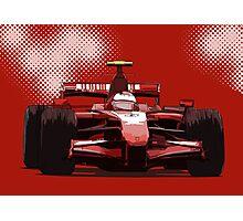 Championship Cars - Kimi 2007 Photographic Print