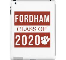 Fordham Class of 2020 iPad Case/Skin