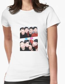 Dan And Phil Photo Booth  Womens Fitted T-Shirt