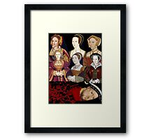 Heads Will Roll Framed Print