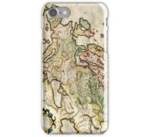 Vintage Map of Europe (1596) iPhone Case/Skin