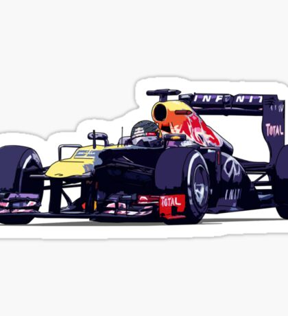 Championship Cars - Vettel 2013 Sticker