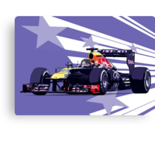 Championship Cars - Vettel 2013 Canvas Print
