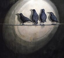Up Against the Wall: Bye Bye Blackbird by Dana Doran