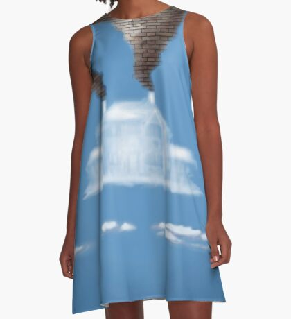 My House In The Clouds A-Line Dress