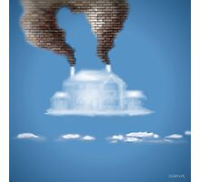 My House In The Clouds Photographic Print