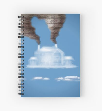 My House In The Clouds Spiral Notebook