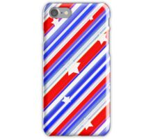 Usa Stars Design Colorful Abstract Motif iPhone Case/Skin