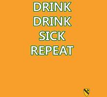 Drink, Drink, Sick, Repeat Unisex T-Shirt
