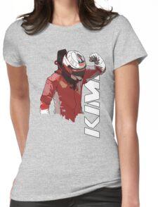 Kimi Raikkonen (WDC 2007) Womens Fitted T-Shirt