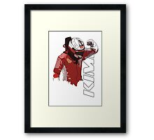 Kimi Raikkonen (WDC 2007) Framed Print
