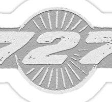 727 Plane - 5H 2 Sticker