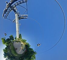 Cable car at Floriade 2012 by George Row