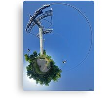 Cable car at Floriade 2012 Canvas Print