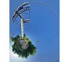 Cable car at Floriade 2012 Photographic Print