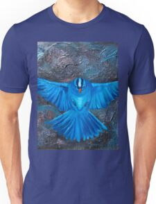 Blue Bird Joy Unisex T-Shirt