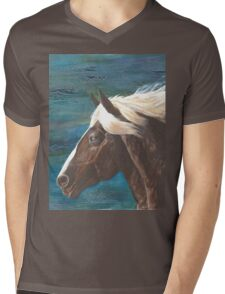 Wind Spirit Mens V-Neck T-Shirt