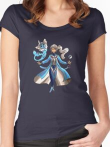 Blanche - Team Mystic Women's Fitted Scoop T-Shirt