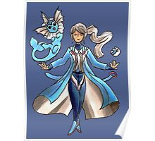 Blanche - Team Mystic Poster