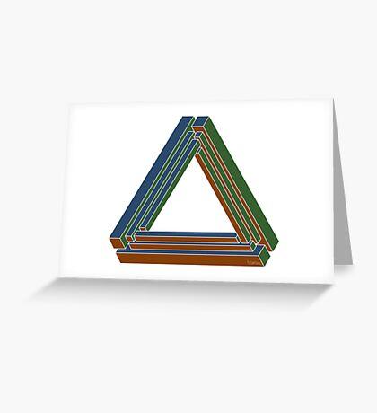 Sarcone's tribar Greeting Card