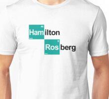 Team Hamilton Rosberg (white T's) Unisex T-Shirt