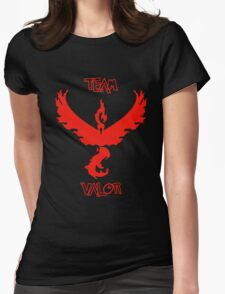 Team Valor - Team Red Womens Fitted T-Shirt