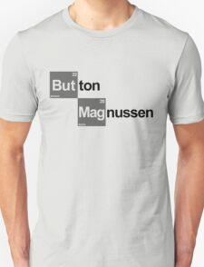 Team Button Magnussen (white T's) T-Shirt