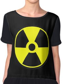 Radiation Hazard Warning Chiffon Top