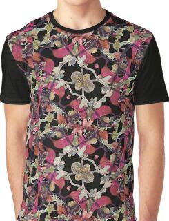Floral Arabesque New Noveau Decorative Pattern  Graphic T-Shirt